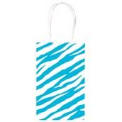 Blue Zebra Party Bag