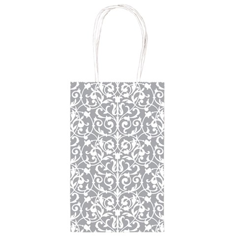 Silver Brocade Party Bag