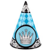 Elegant Prince Damask Cone Hats