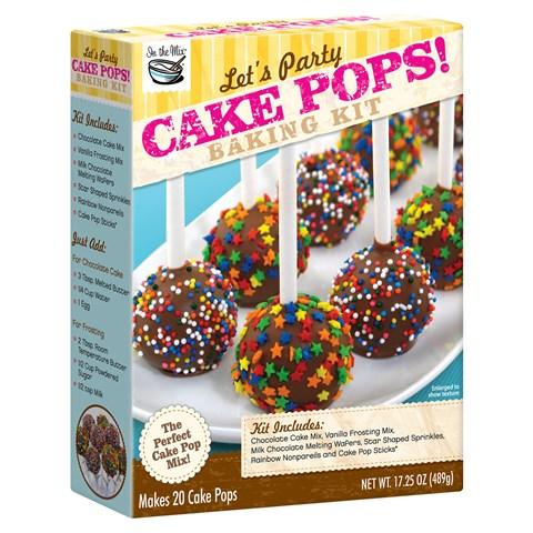 Let's Party Cake Pops Baking Kit
