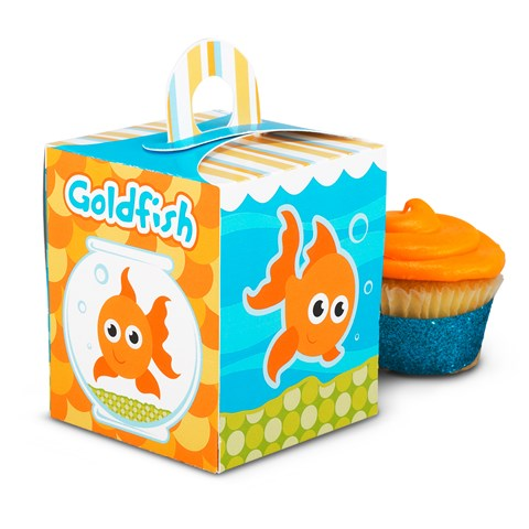 Goldfish Cupcake Boxes
