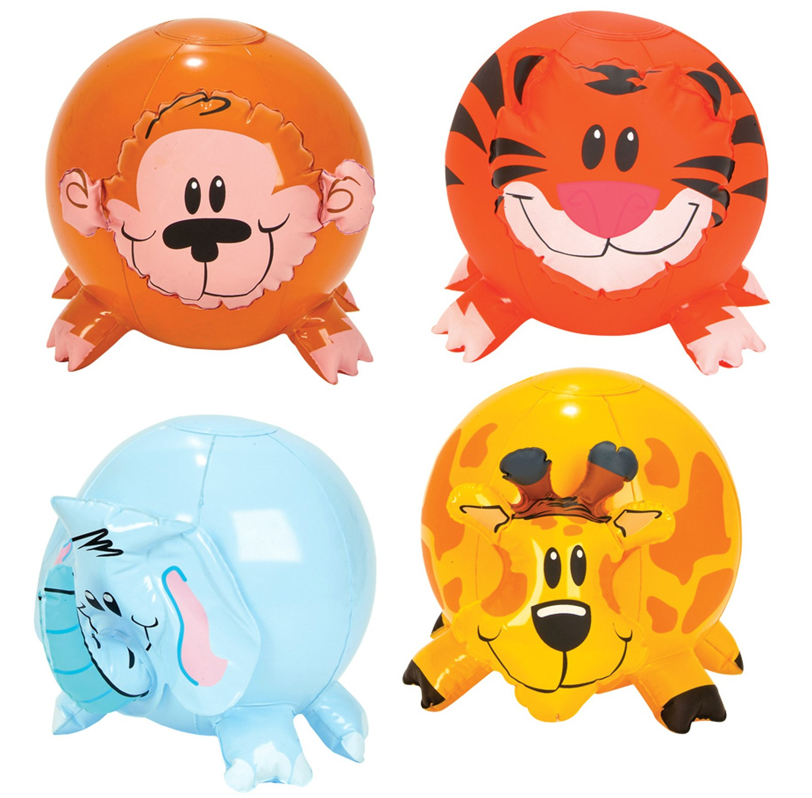 Inflatable Zoo Animal Beach Ball