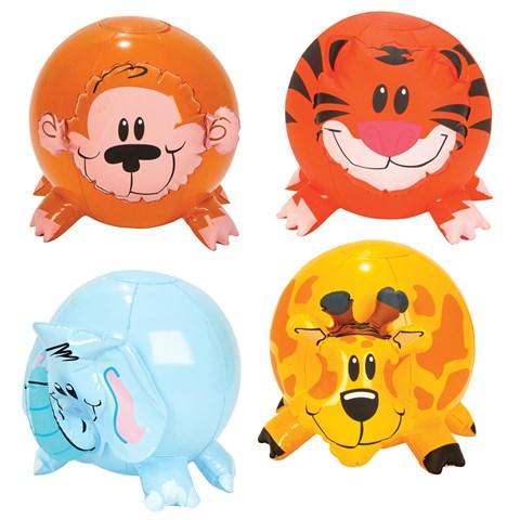 Inflatable Zoo Animal Beach Ball