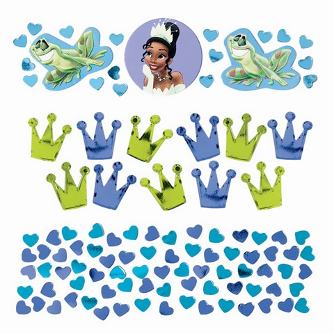 Disney Princess and the Frog Value Confetti