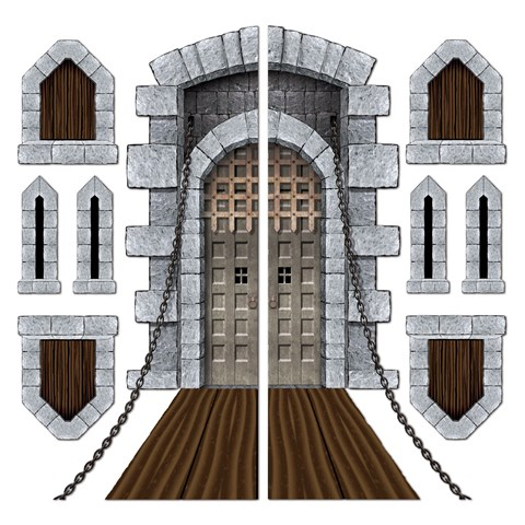 Castle Door and Window Props Add-Ons