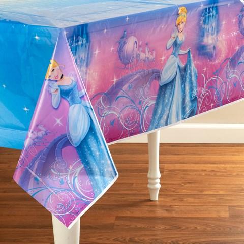 Disney Cinderella Sparkle Plastic Tablecover
