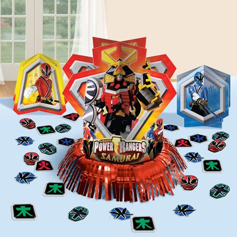 Power Rangers Samurai Table Decorating Kit