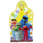 Big Bird and Friends Giant Pull-String Pinata