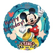 Disney Mickey Mouse Clubhouse Singing Foil Balloon