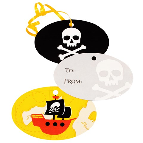 Pirates Gift Tags