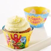 Yo Gabba Gabba! Reversible Cupcake Wrappers