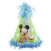 Disney Mickey's 1st Birthday Cone Hat