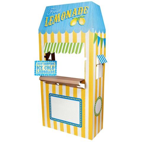 Lemonade Cardboard Stand