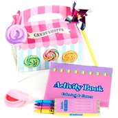 Candy Shoppe Filled Party Favor Box