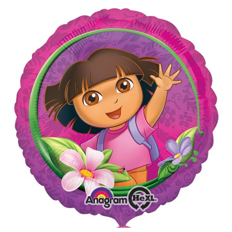Dora's Flower Adventure Foil Balloon
