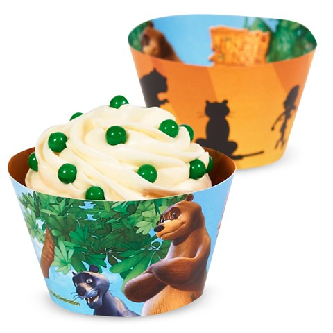 The Jungle Book Reversible Cupcake Wrappers