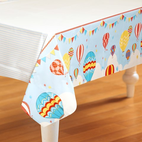 Up, Up and Away Plastic Tablecover