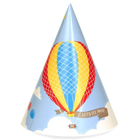 Up, Up and Away Cone Hats