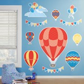 Up, Up and Away Giant Wall Decals