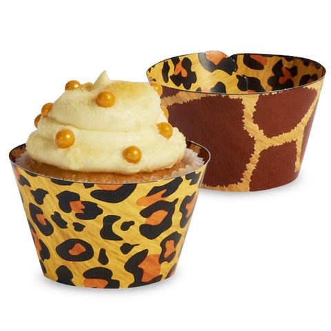 Safari Adventure Party Reversible Cupcake Wrappers