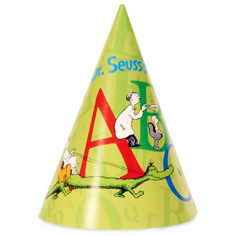 Dr. Seuss ABC - Cone Hats