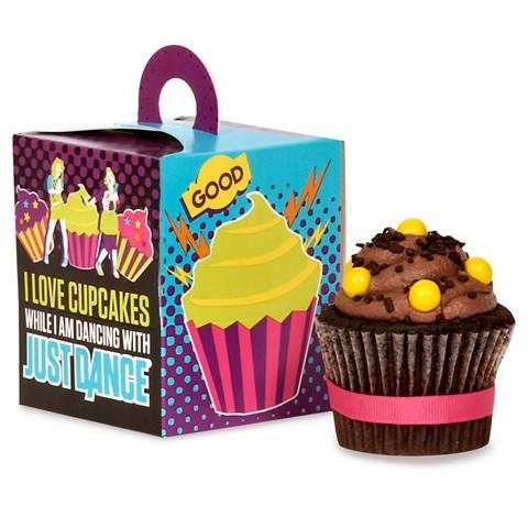 Just Dance Cupcake Boxes