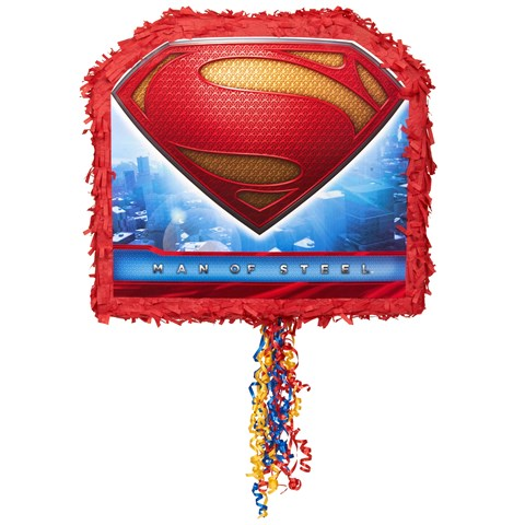 Superman: Man of Steel Pull-String Pinata