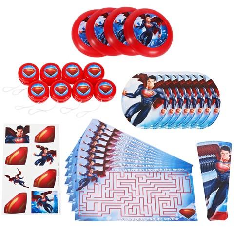 Superman: Man of Steel Party Favor Value Pack