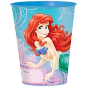 Disney The Little Mermaid Sparkle 16 oz. Plastic Cup
