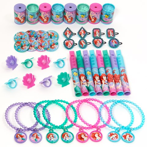 Disney The Little Mermaid Sparkle Party Favor Value Pack