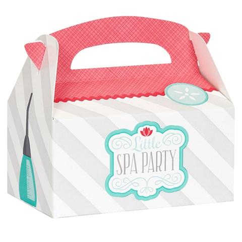 Little Spa Party Empty Favor Boxes