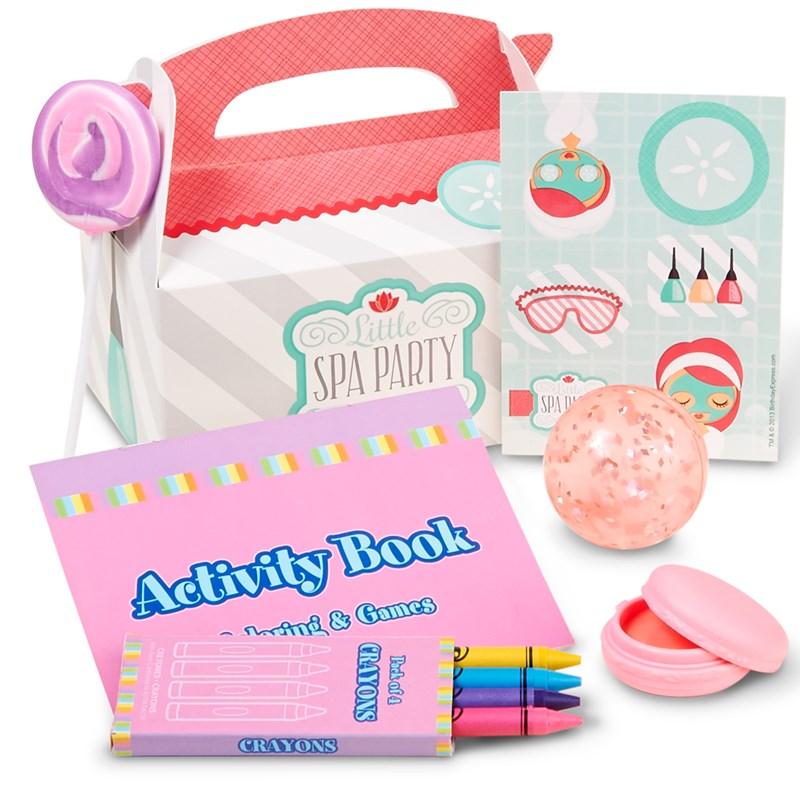 Little Spa Party - Party Favor Box