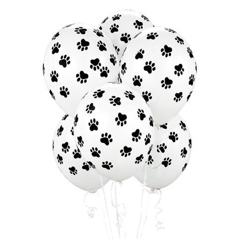 Paw Print Balloons