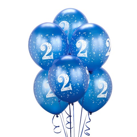 Royal Blue #2 Balloons