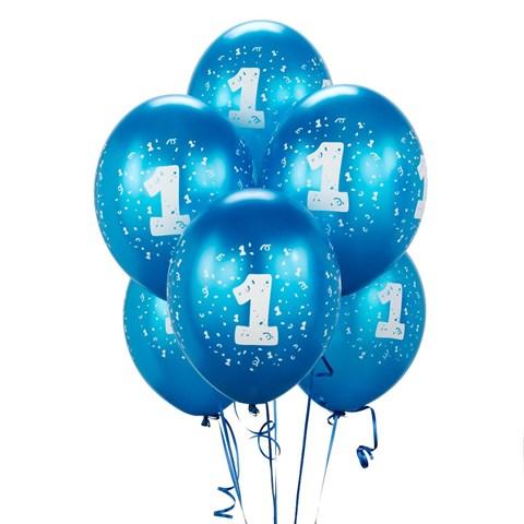 Cyan #1 Balloons