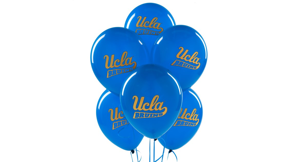 Ucla Bruins Latex Balloons Birthdayexpress Com