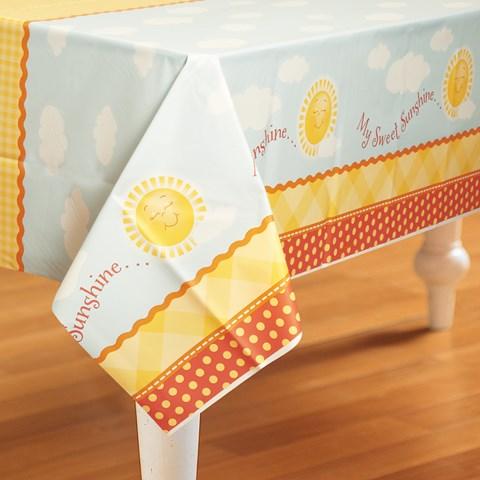 Little Sunshine Party Plastic Tablecover