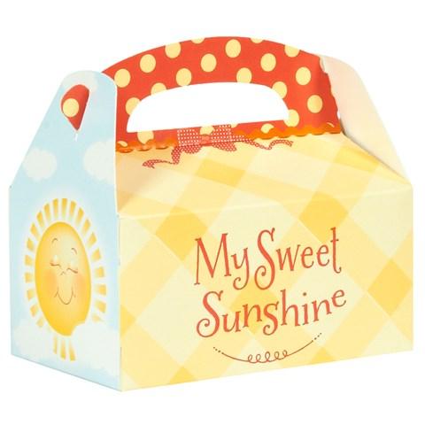 Little Sunshine Party Empty Favor Boxes