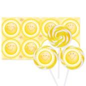 Little Sunshine Party Deluxe Lollipop Favor Kit