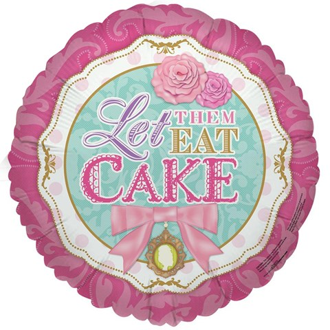 Let Them Eat Cake Foil Balloon