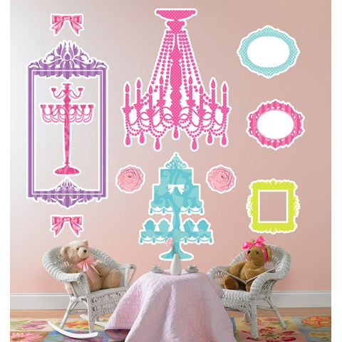 Let Them Eat Cake Wall Decals