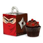 Ninja Warrior Party Cupcake Boxes