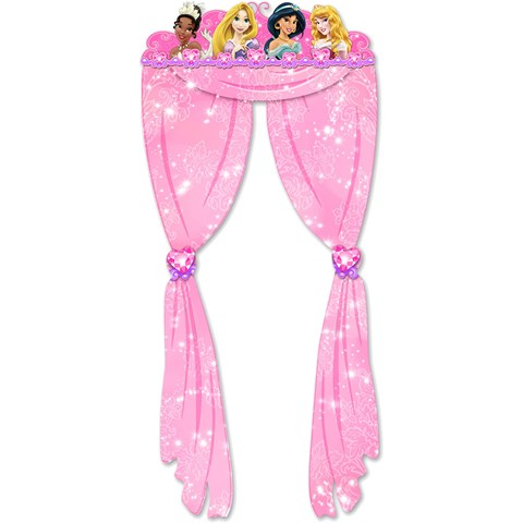 Disney Very Important Princess Dream Party Doorway Curtain