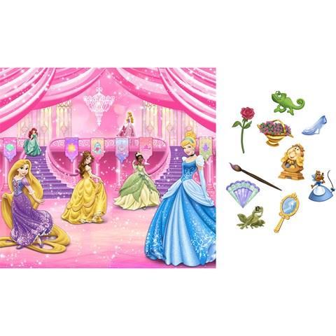 Disney Very Important Princess Dream Party Backdrop & Props Kit