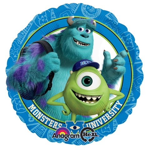 Disney Monsters U Foil Balloon
