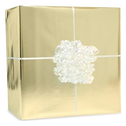 Metallic Gold Gift Wrap Kit