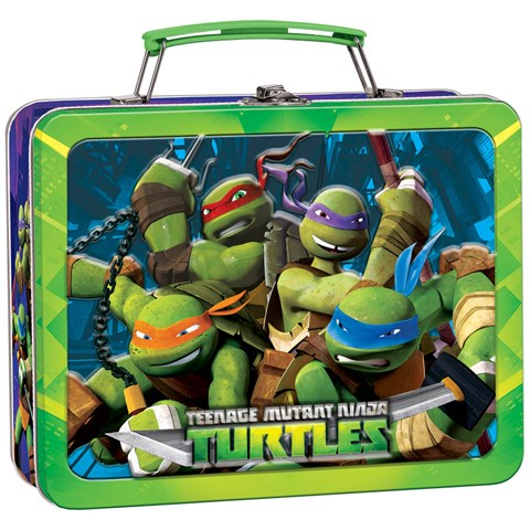 Teenage Mutant Ninja Turtles Tin Box Carry All