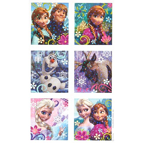 Disney Frozen - Sticker Sheets (4)
