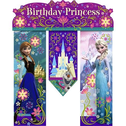 Disney Frozen - Birthday Banner