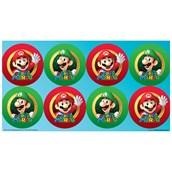 Super Mario Party Large Lollipop Sticker Sheet